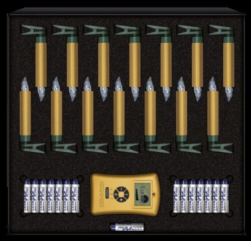 Krinner Lumix Deluxe Mini 14er Basis Set gold