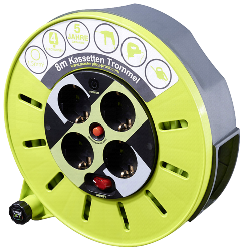 Masterplug ProXT Kabeltrommel Kassette S 8m