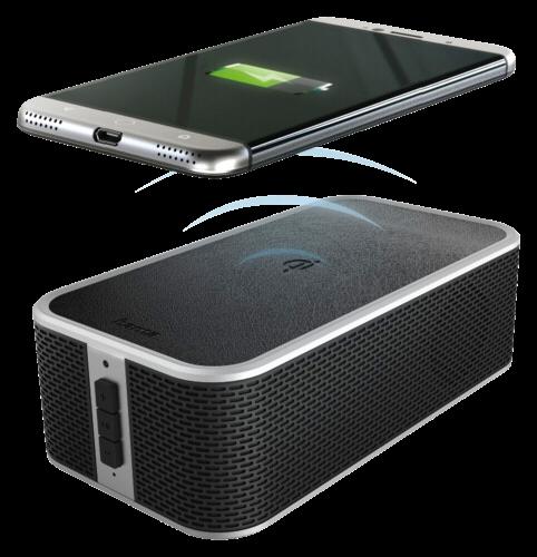 Hama Bluetooth Lautsprecher inkl. QI Ladegerät Power Brick