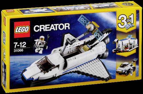LEGO Creator 31066 Forschungs-Spaceshuttel
